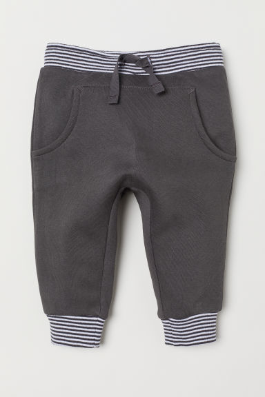 Trousers with a pocket - Dark grey - Kids | H&M