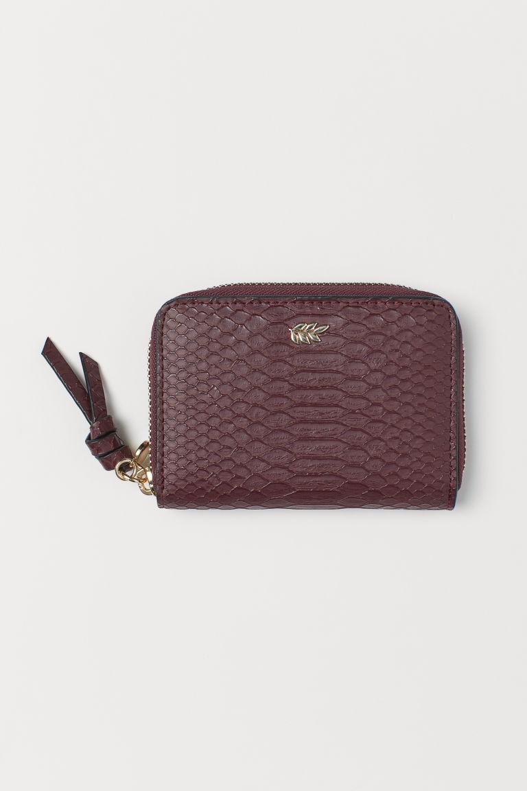 Helt nya Liten plånbok - Vinröd - DAM | H&M FI SJ-96