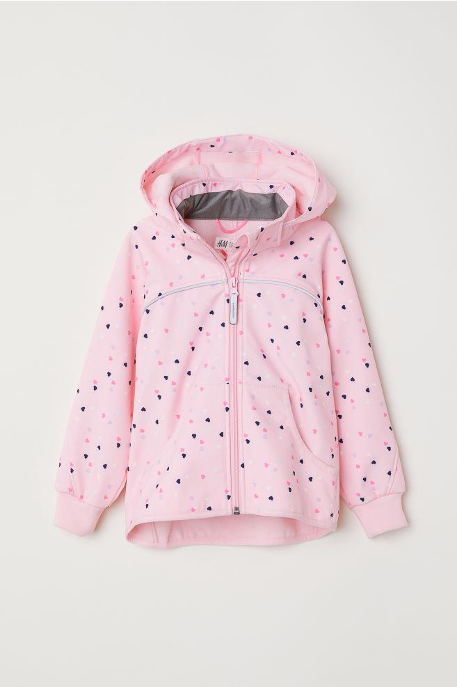 f51f2713e3 Softshell dzseki - Világos rózsaszín/szívek - GYEREK | H&M ...