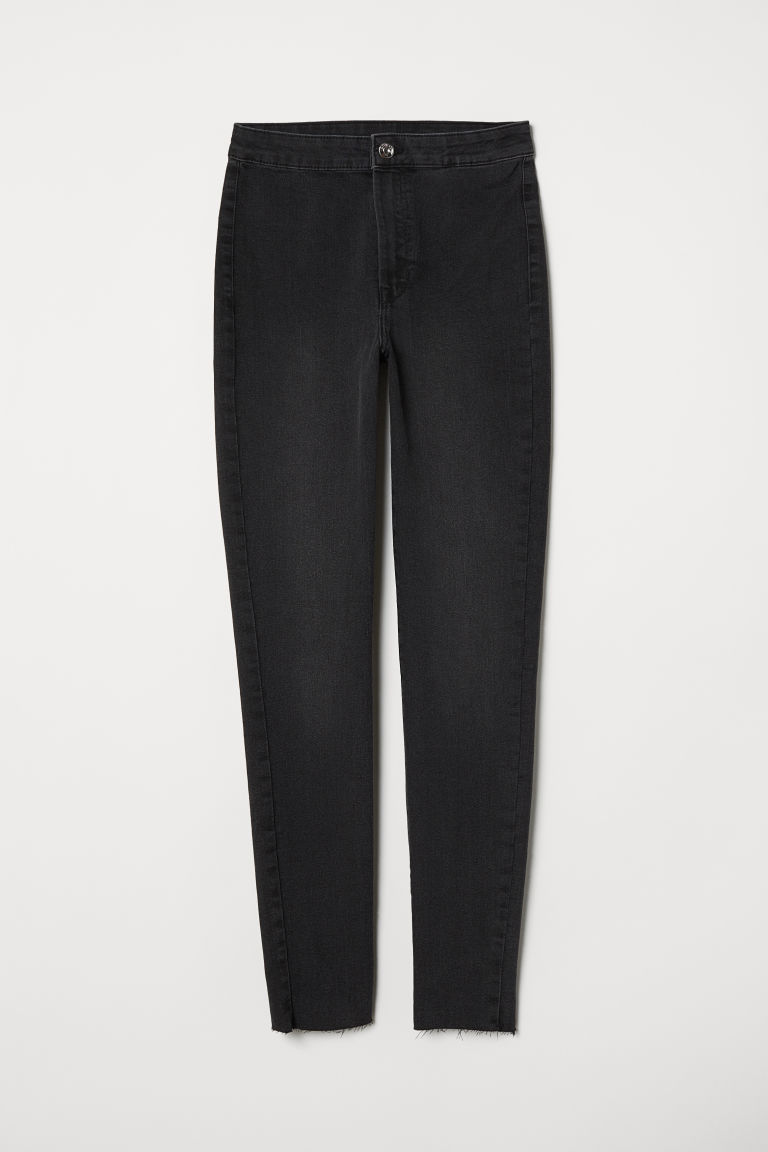 Super Skinny High Treggings - Grigio denim scuro -  | H&M IT