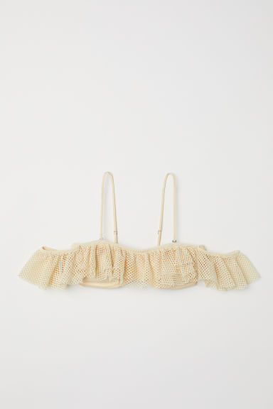 Bandeau bikini top - Light yellow - Ladies | H&M