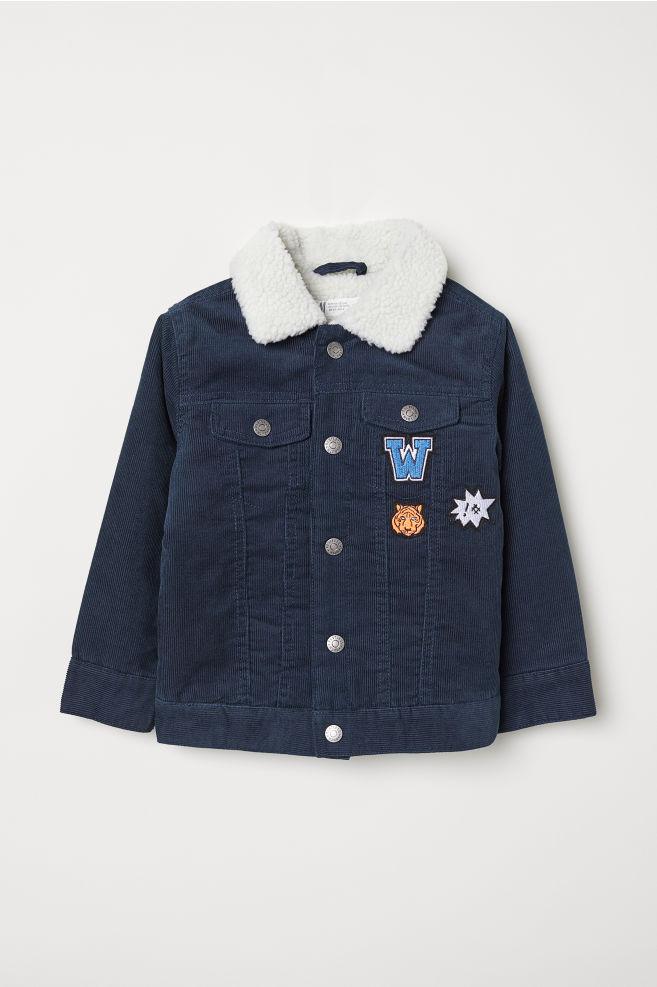 9ac24d3d6 Pile-lined Corduroy Jacket