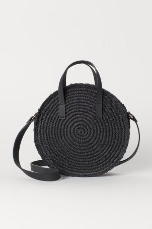 00c342611b31 Round Paper Straw Handbag