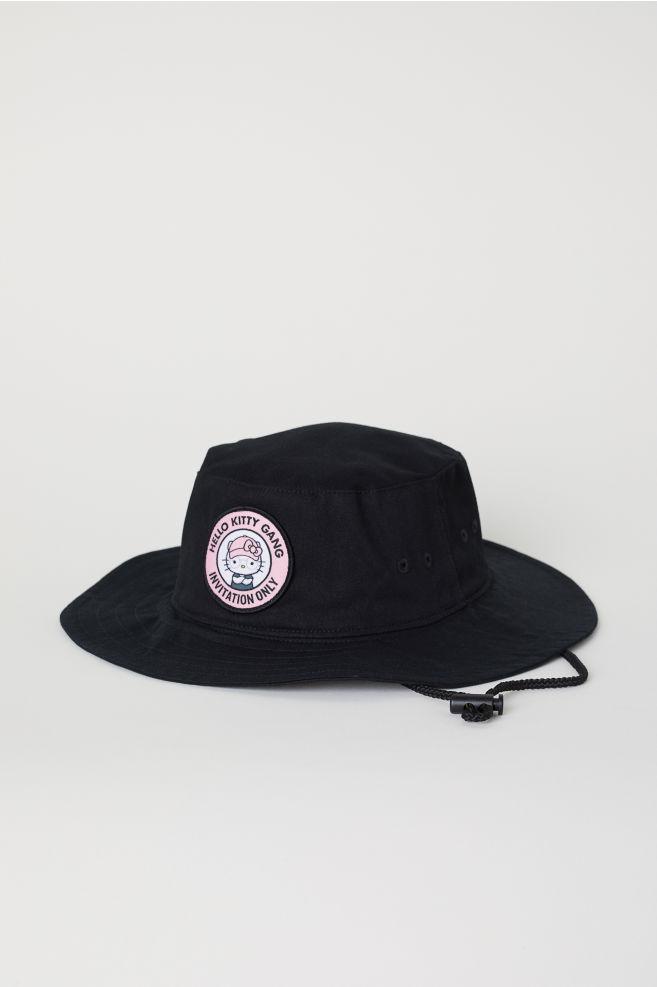 1106fd91f Appliquéd fisherman's hat - White/Hello Kitty - Ladies   H&M ...