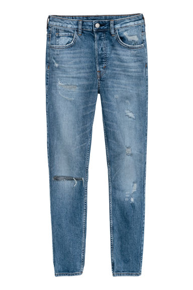 Vintage Skinny High Jeans - Denim blue -  | H&M GB