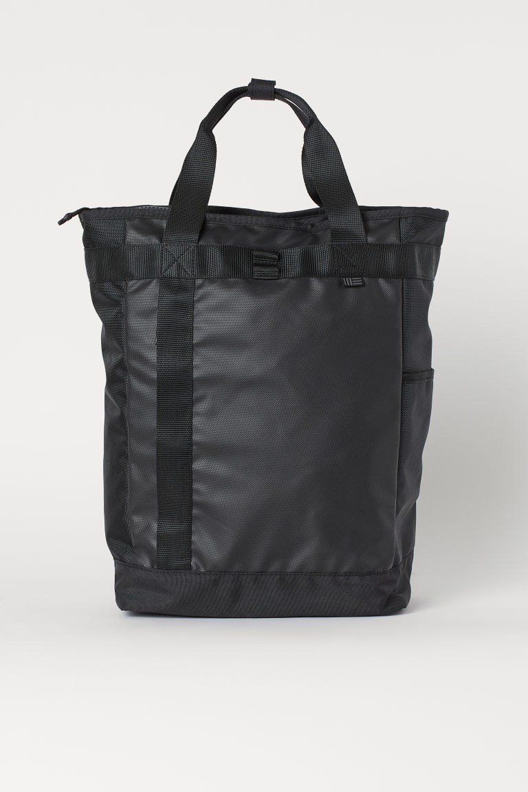 Tote bag backpack - Black - Men | H&M GB