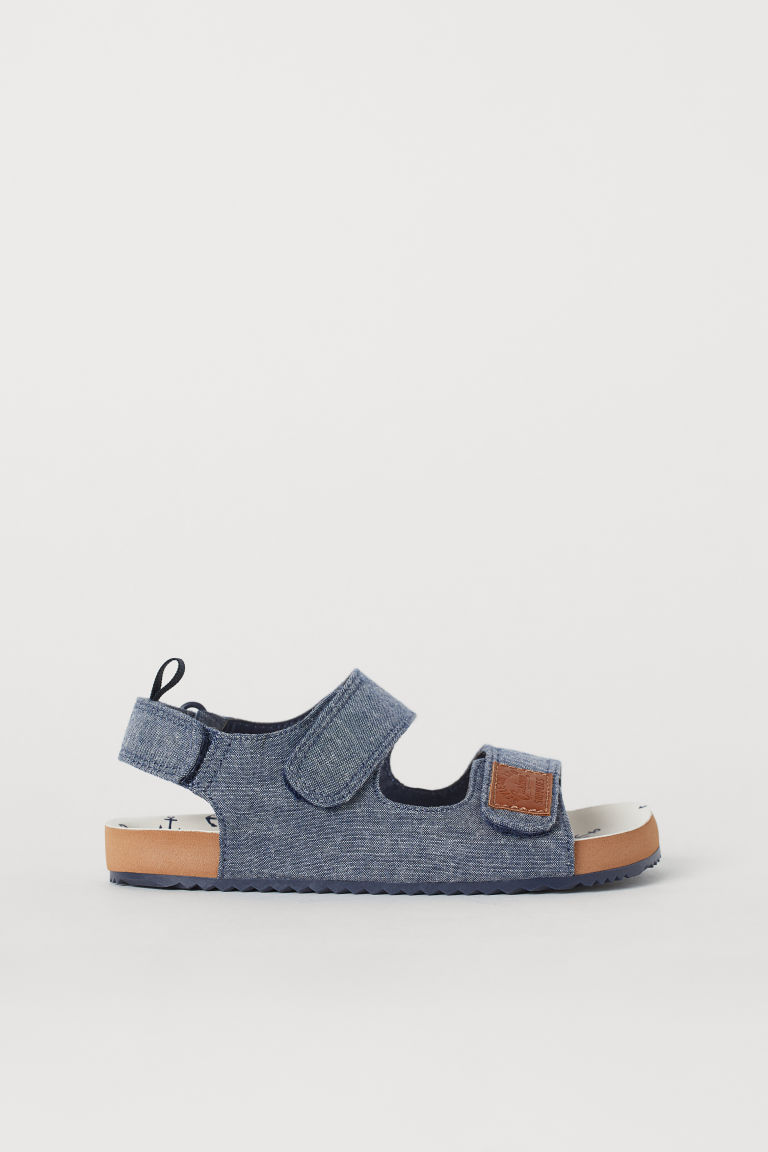 Sandals - Blue/Chambray - Kids | H&M GB