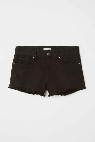 Shorts in denim - Nero - DONNA | H&M IT