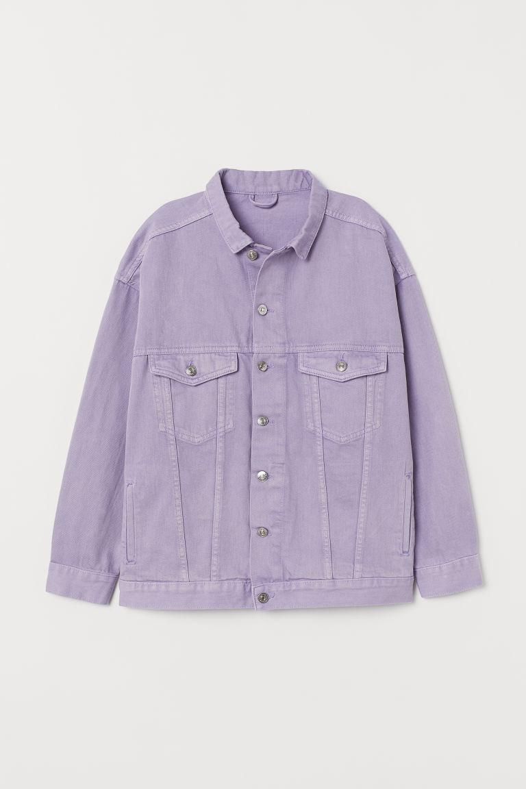 regard détaillé 373d9 a72fe Oversized denim jacket
