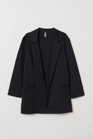 Jersey jacket - Black -  | H&M