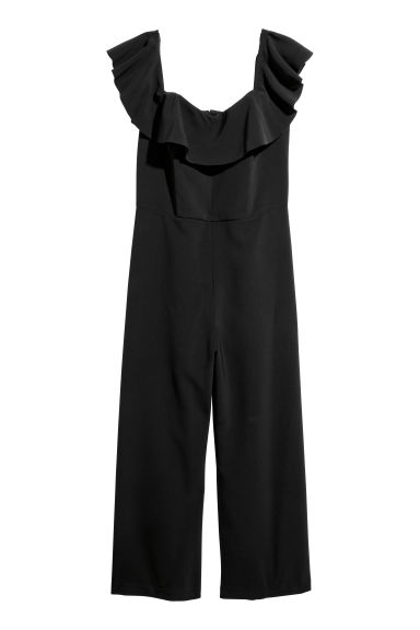 H&M+ Jumpsuit - Black - Ladies | H&M GB