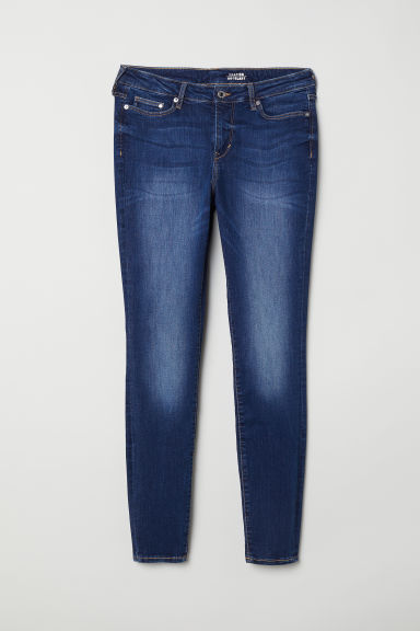 H&M+ Shaping Skinny Jeans - Dark blue - Ladies | H&M