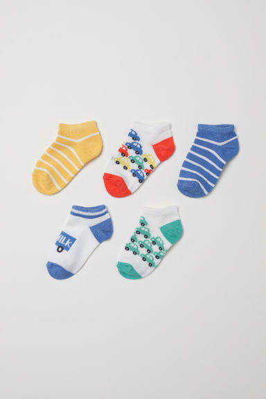 5-pack trainer socks - Bright red - Kids | H&M CN