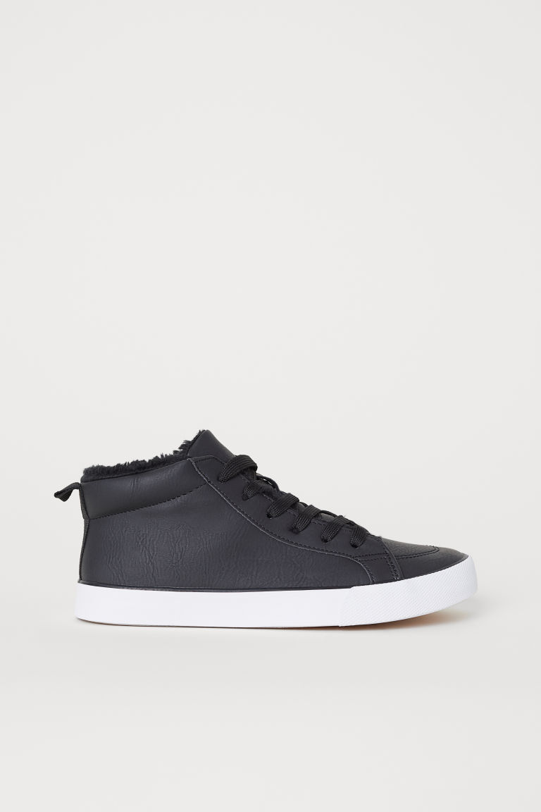 Medium-high trainers - Black -  | H&M