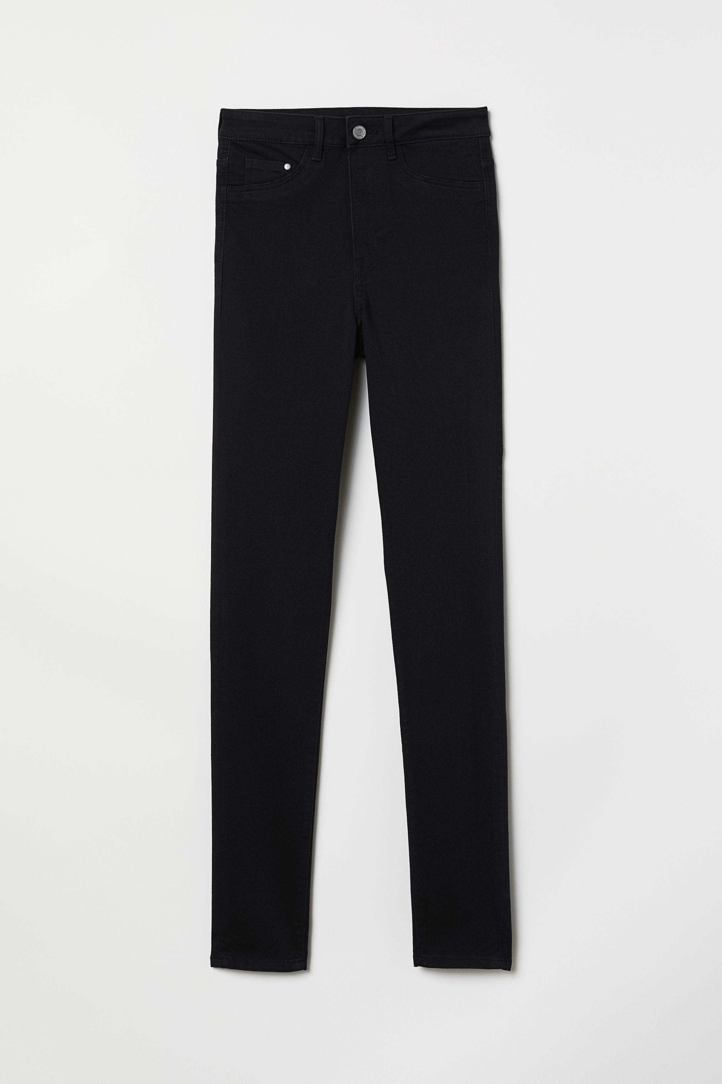 dcfb030f4c05c5 Super Skinny High Jeggings - Black - | H&M GB