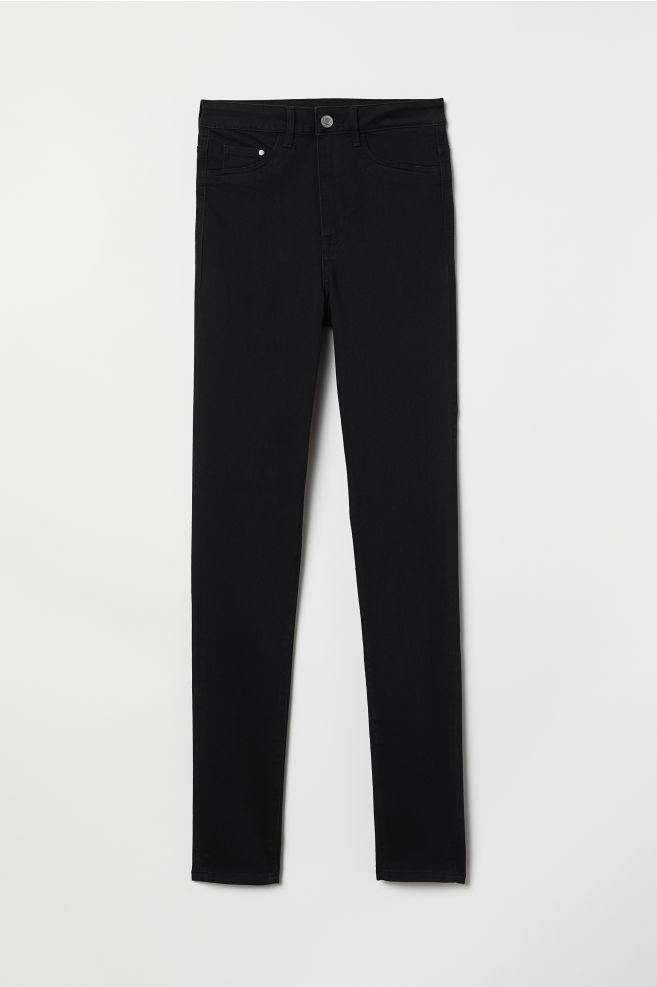 a921f2f0d30856 Super Skinny High Jeggings - Black - | H&M ...