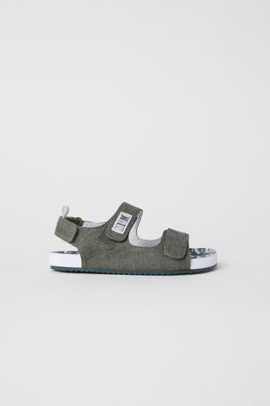 Sandals - Khaki green - Kids | H&M
