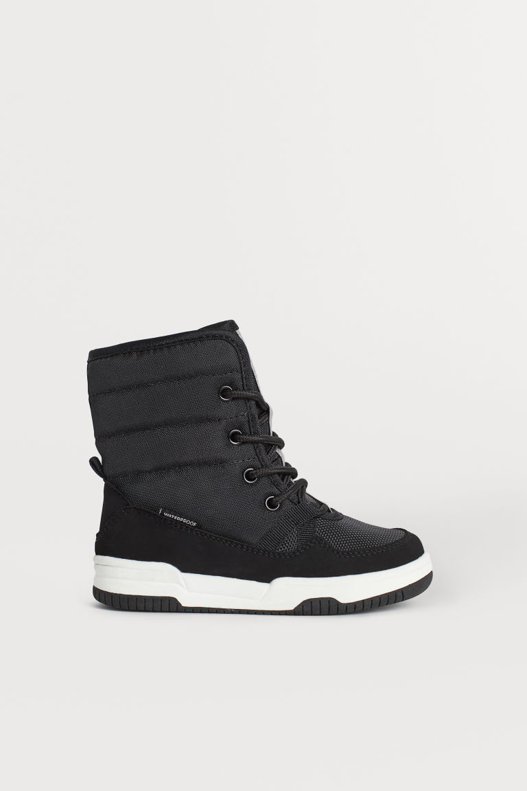 Waterproof boots - Black - Kids | H&M CN