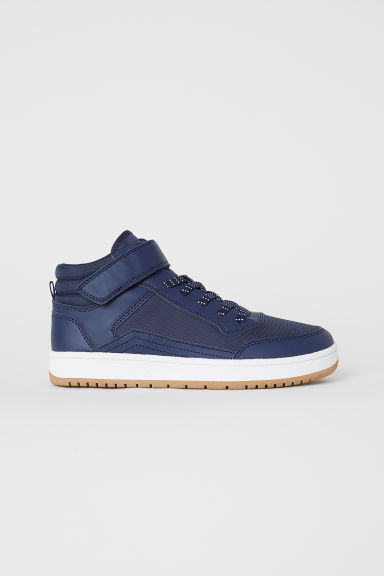 Hi-top trainers - Dark blue - Kids | H&M CN