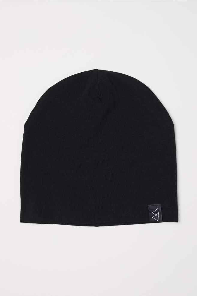 da354601 Jersey hat - Black - Men | H&M ...