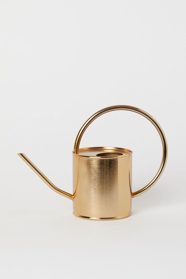 Metal Watering Can - Gold-colored - Home All | H&M CA