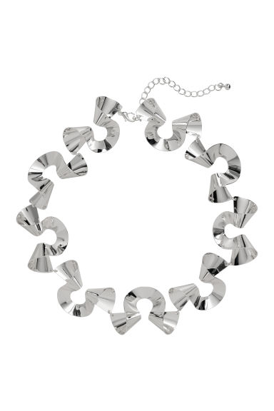 Necklace - Silver-coloured -  | H&M CN