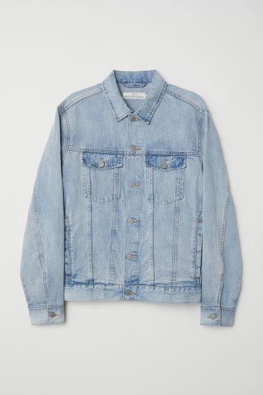Denim jacket - Light denim blue - Men | H&M