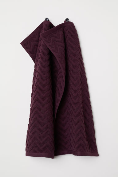 2-pack guest towels - Burgundy - Home All | H&M CN