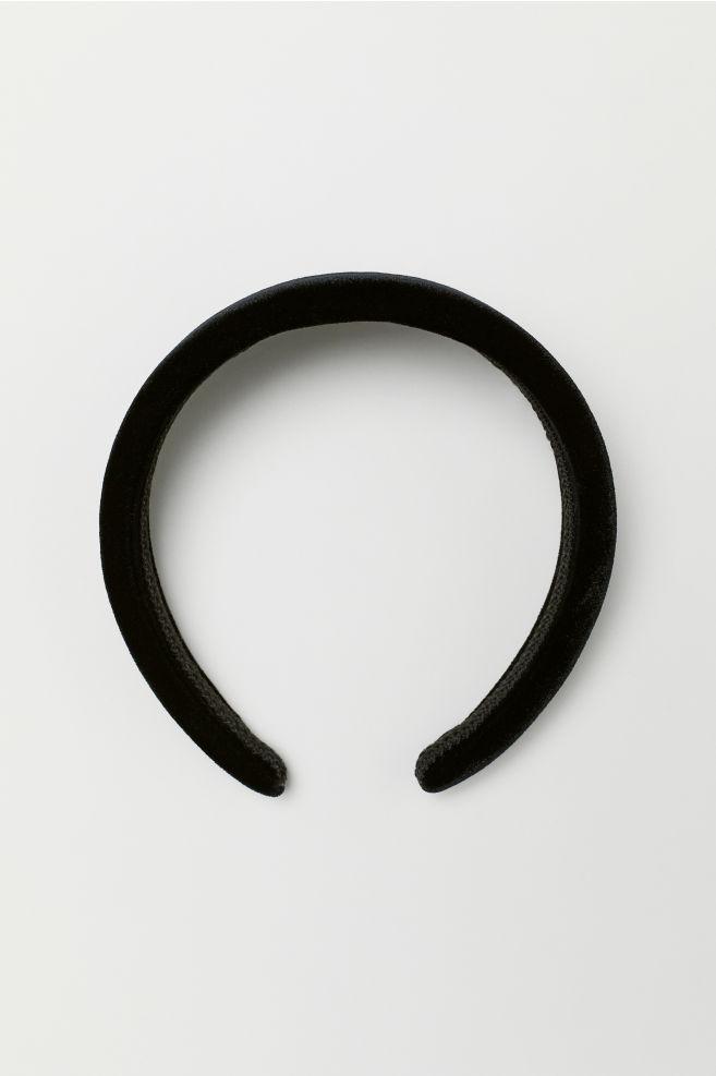 Sametová čelenka - Černá - ŽENY  aab6310e97