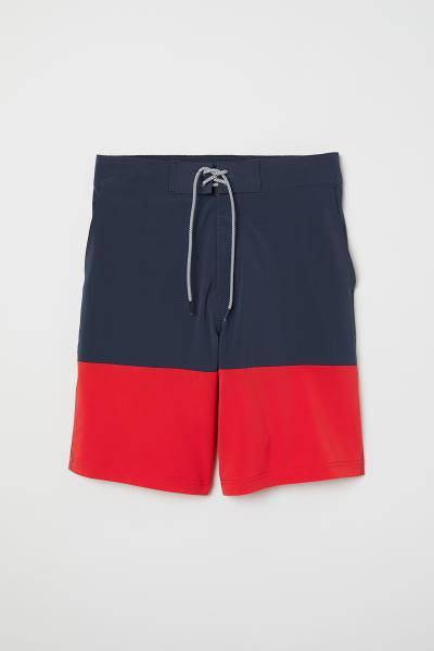 H&M - Short de bain long - 1