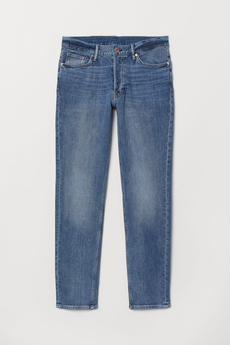 Slim Jeans - Denimblå -  | H&M NO