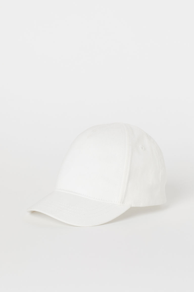 Cotton cap - White - Kids | H&M CN