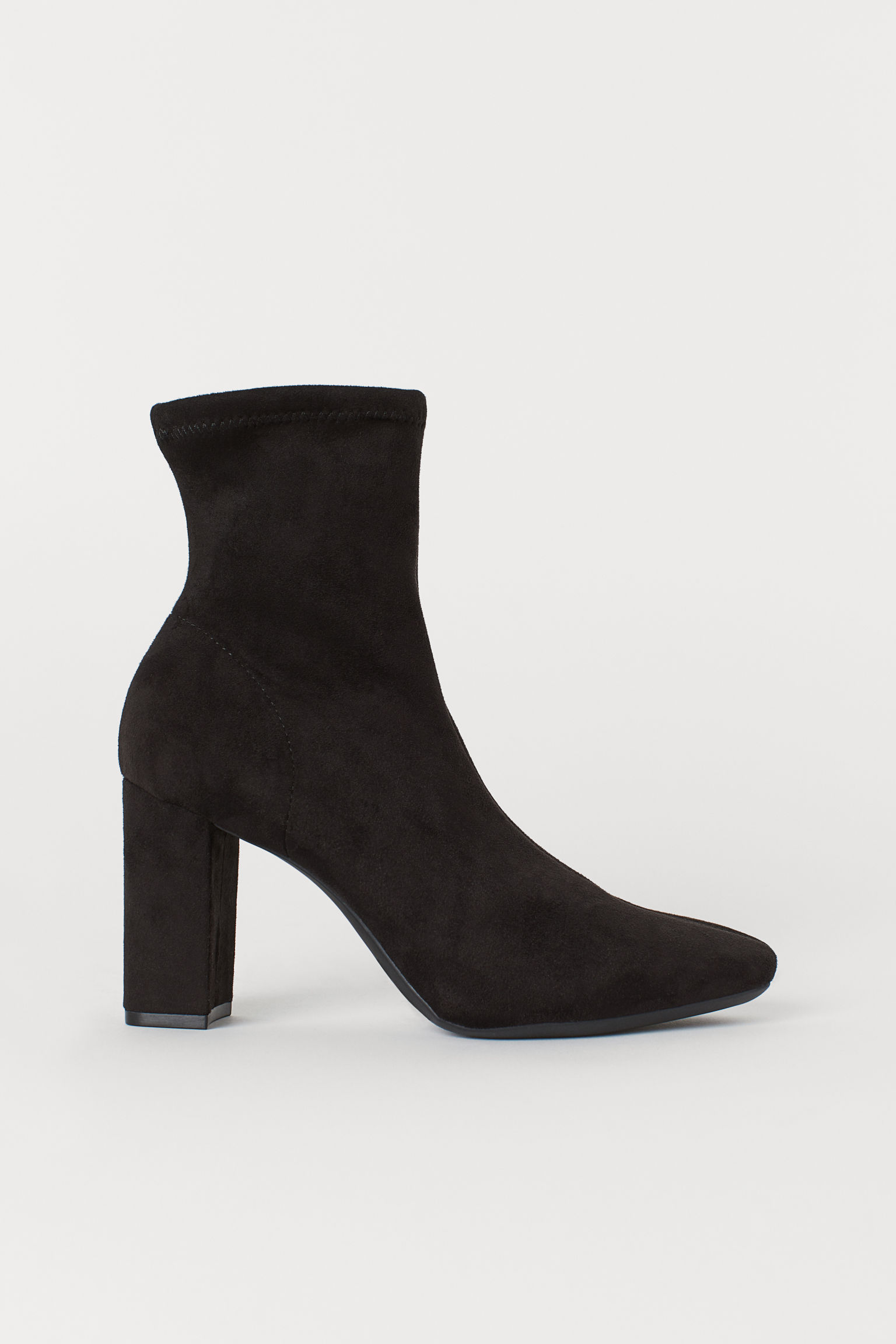 1d0be278138 Sock Boots - Black - Ladies