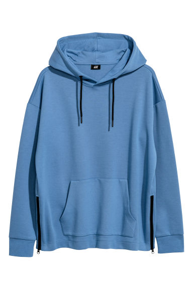 Hooded top - Blue - Men | H&M