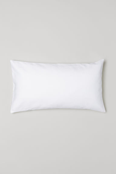 Jacquard-weave cushion cover - White - Home All | H&M CN