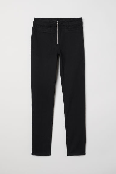 Skinny High Ankle Jeans - Zwart -  | H&M BE