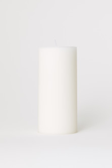 Large pillar candle