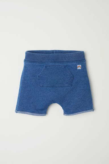 Sweatshirt shorts - Denim blue - Kids | H&M
