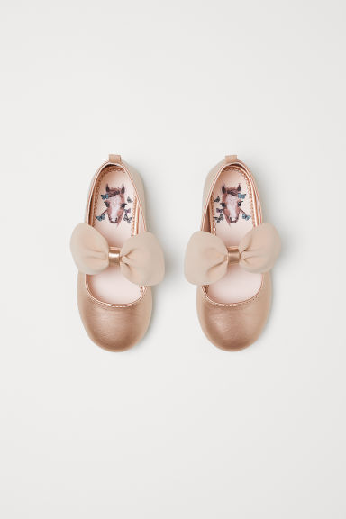 Ballet pumps - Rose gold-coloured -  | H&M CN