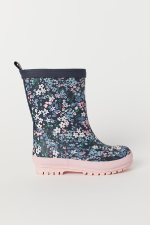 Patterned wellingtons