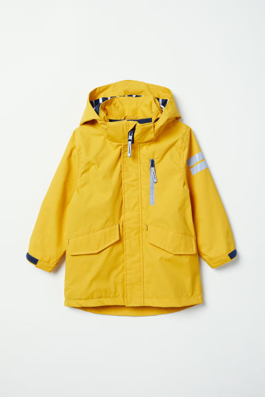 Water-repellent lined jacket - Yellow -  | H&M CN