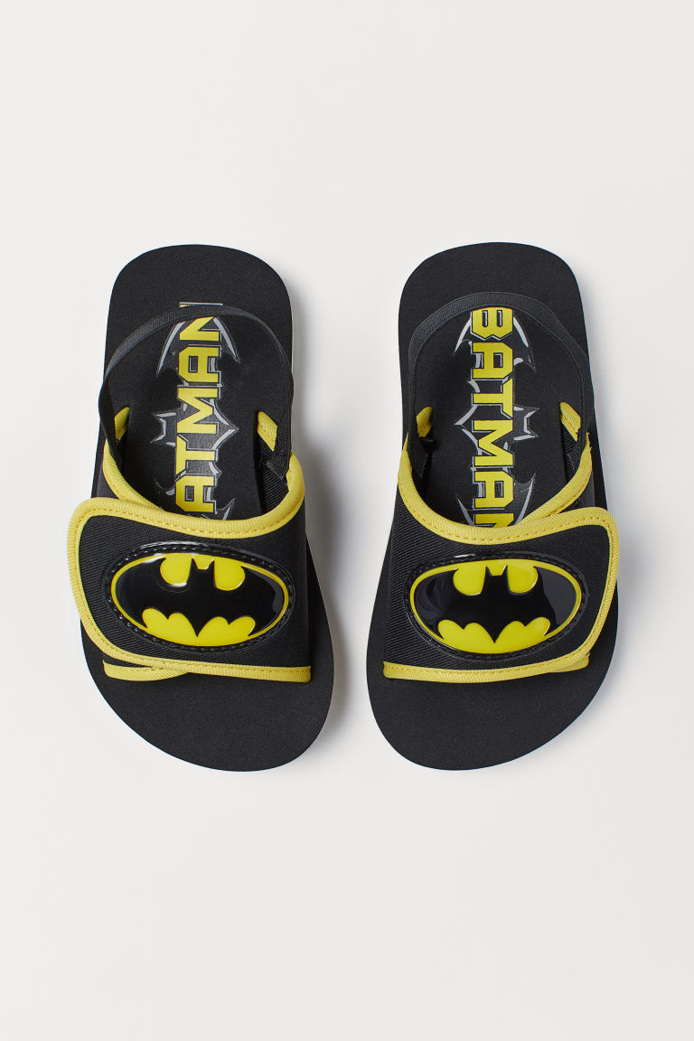 Sandali tipo neoprene - Black/Batman - BAMBINO | H&M IT