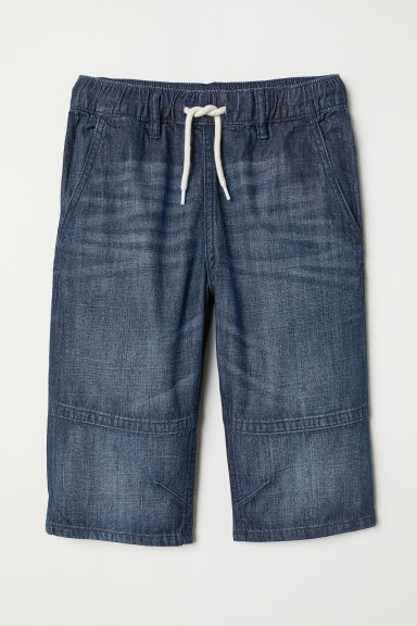 Clamdiggers - Dark denim blue - Kids | H&M CN