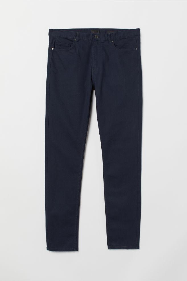 12fb9a7d3 Skinny Fit Twill Pants