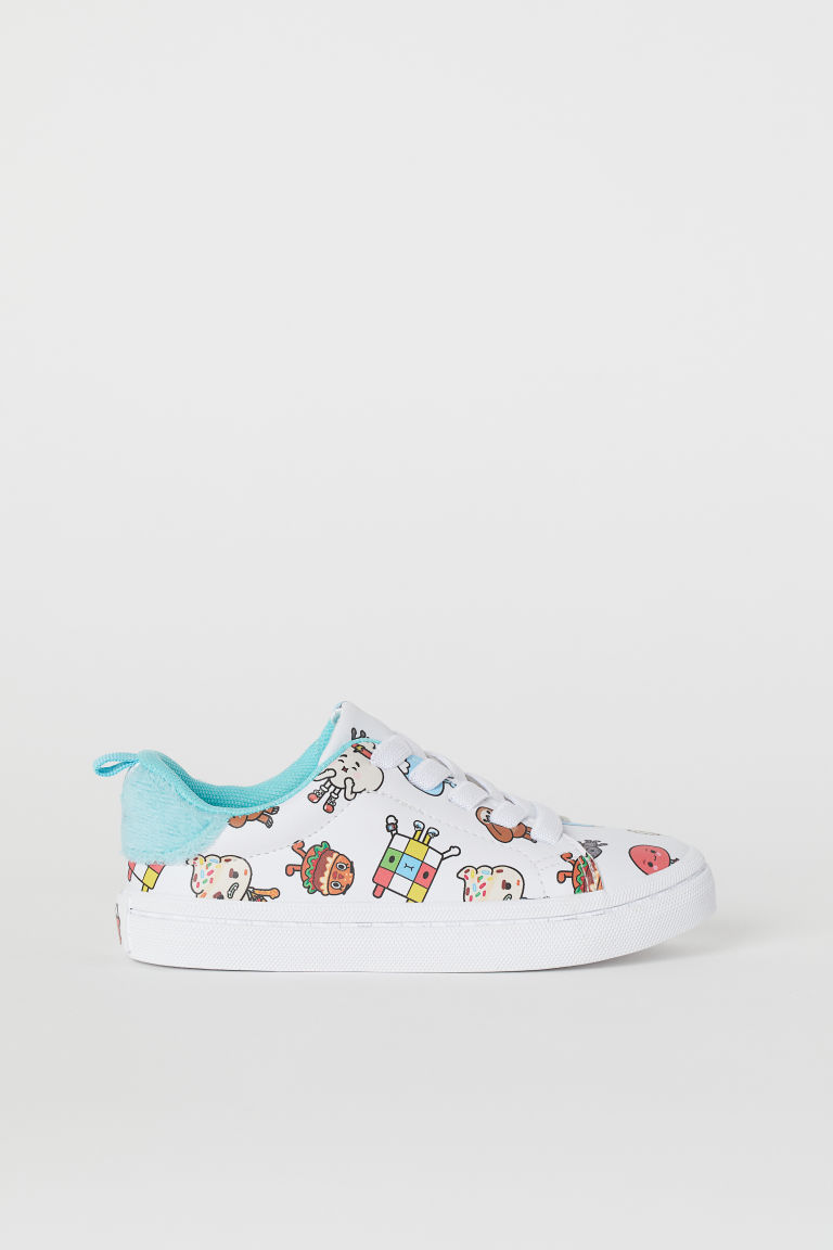 Patterned trainers - White/Toca Life - Kids | H&M
