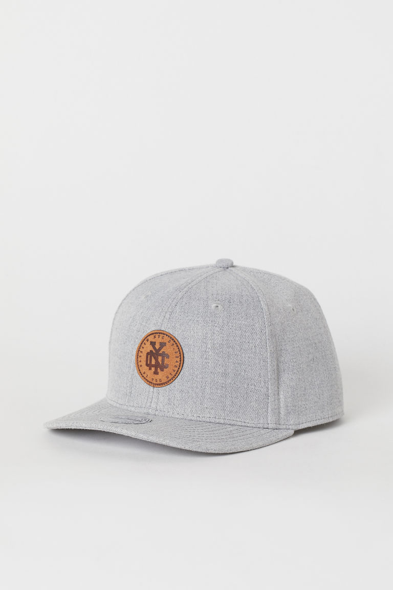Cap - Light grey marl/NYC - Men | H&M