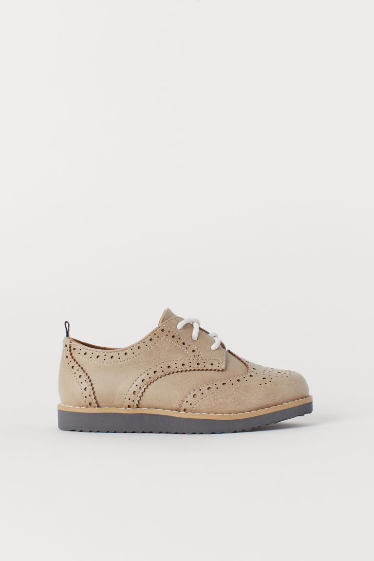 Brogues - Beige - Kids | H&M US