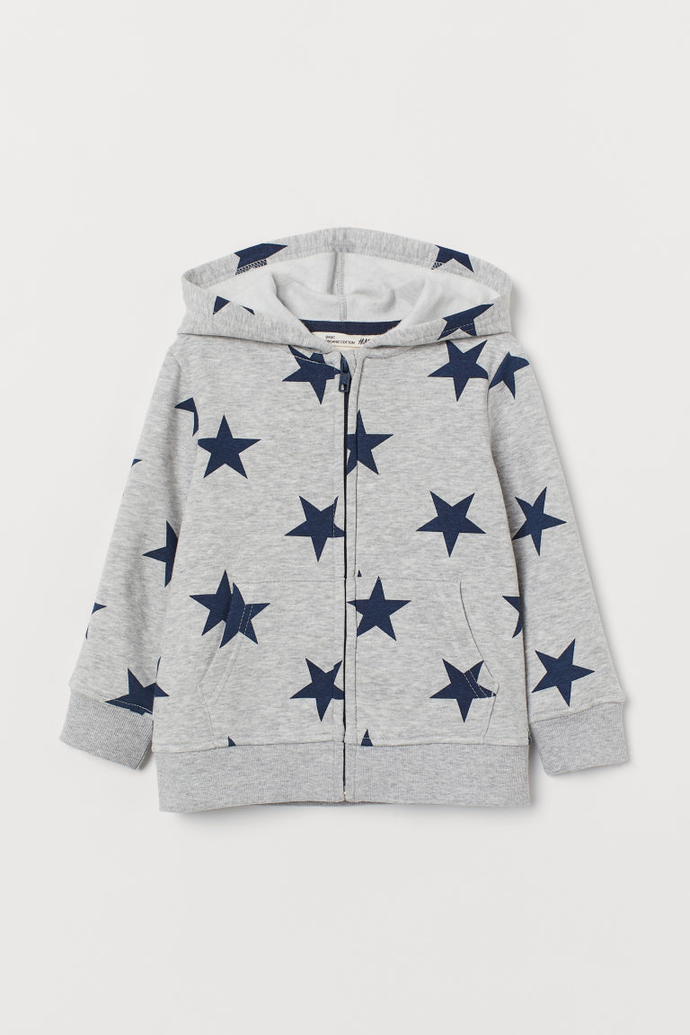 Kapuzenjacke - Grau - Kids | H&M AT