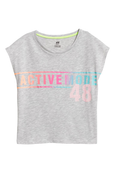 Top training - Gris clair - ENFANT | H&M FR
