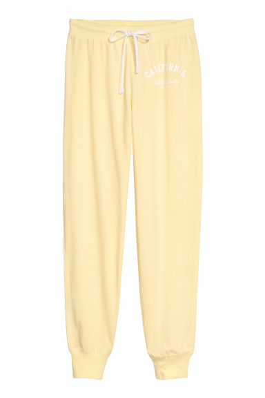 Pyjamabroek - Lichtgeel/California - DAMES | H&M BE